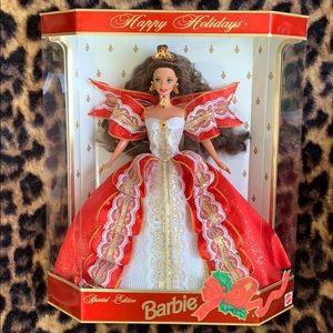 10th Anniversary happy holiday Barbie